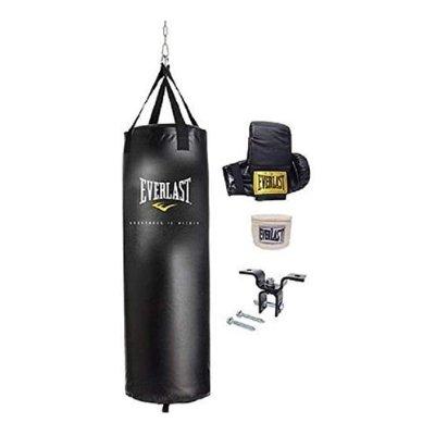 Everlast Dual Station Punching Bag Set