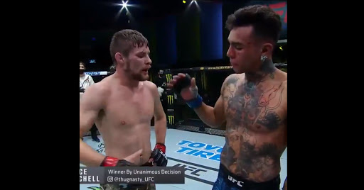 UFC Vegas 12 Results: Bryce Mitchell Defeats Andre Fili By UD After A Back And Forth War (Highlights)
