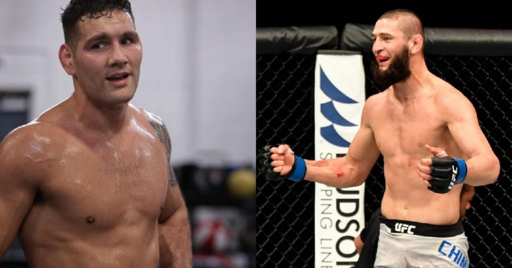Chris Weidman Accepted Khamzat Chimaev Fight: 'If Everyone Thinks That He's That Good, Let's See It'