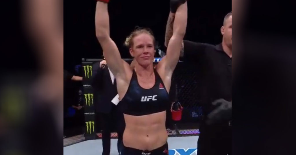 Pros React To Holly Holm's Dominating Victory Over Irene Aldana