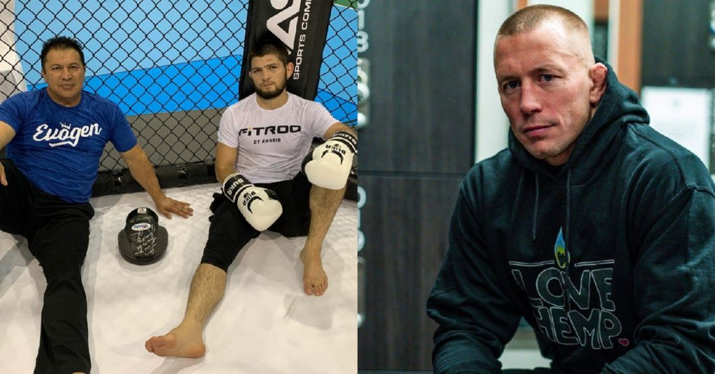 Javier Mendez Says Khabib vs GSP Would 'Be A Great Way To Start A 165lb Division'