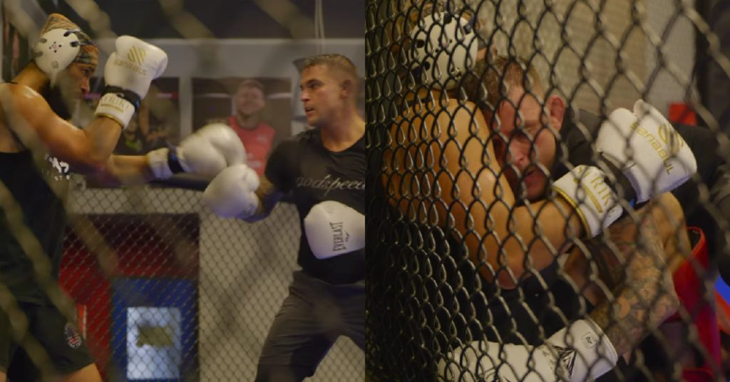 Jorge Masvidal and Dustin Poirier Share Intense Sparring Session (VIDEO)