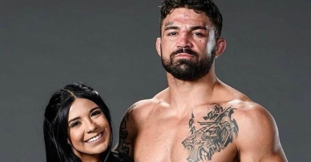 (Photo) Mike Perry Gets Lip Tattoo Dedicated To Girlfriend