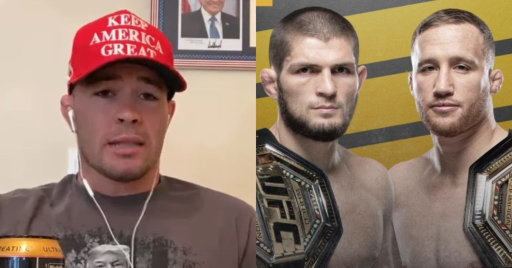 Colby Covington: Justin Gaethje Is Khabib's First Test With 'A Guy That Can Actually Wrestle'