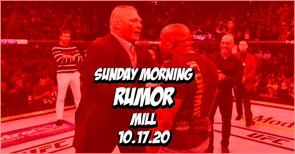 DC Rejected by WWE, Lesnar vs Jones Heats Up, & More on the Sunday Morning Rumor Mill