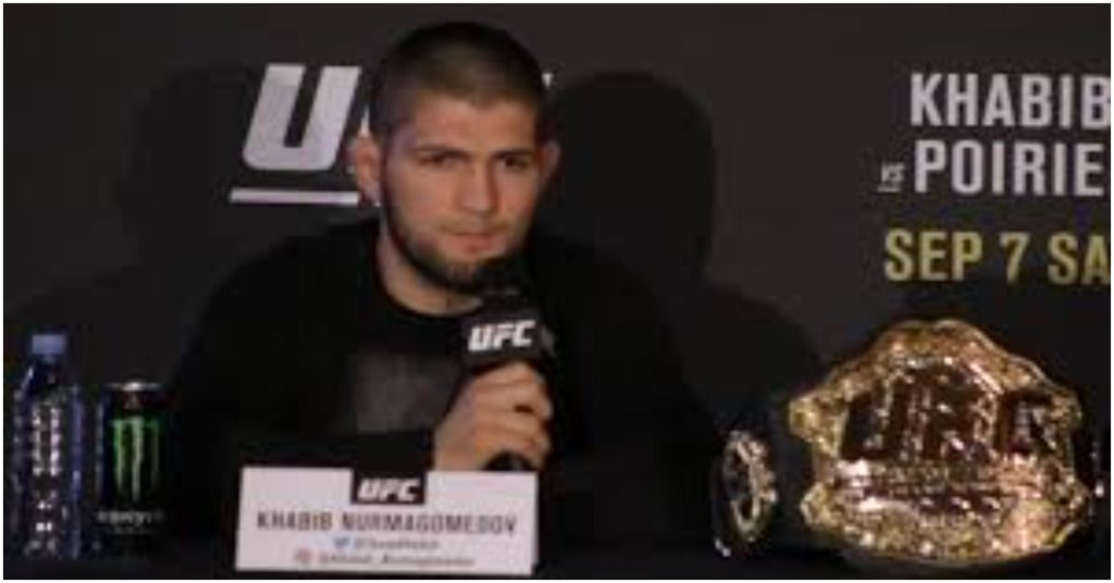 Khabib Nurmagomedov Gives Advice to Fan That Says Jorge Masvidal Slept With His Girlfriend
