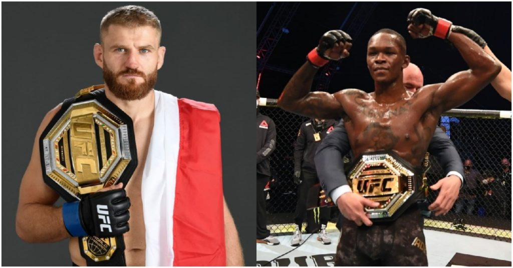 Dana White Confirms Israel Adesanya Will Get Title Shot Against Jan Blachowicz Over Glover Teixeira