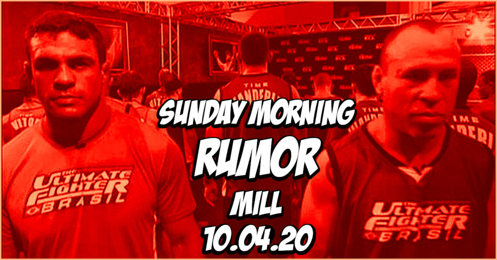 Wanderlei Silva to ONE FC, Khamzat vs Wonderboy, & More on the Sunday Morning Rumor Mill
