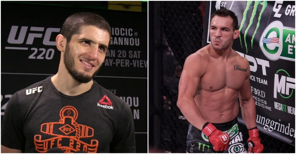 Islam Makhachev Wants Michael Chandler Fight As Replacement for Rafael Dos Anjos at UFC 254