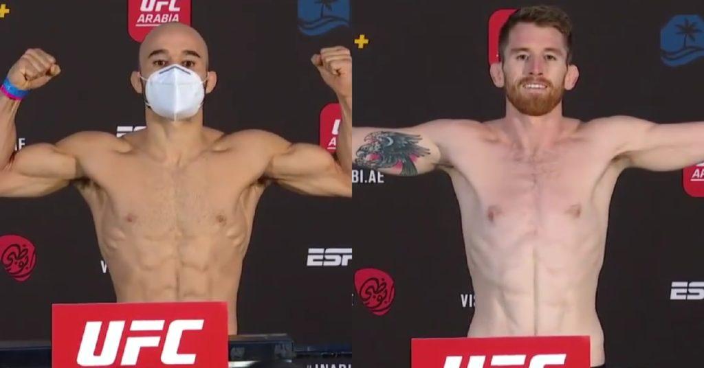 UFC Fight Island 5 Weigh-Ins And Faceoffs: Marlon Moraes, Cory Sandhagen Make Weight
