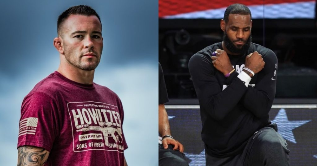 Colby Covington Wants To Make LeBron James 'Eat The Canvas' In Boxing Match