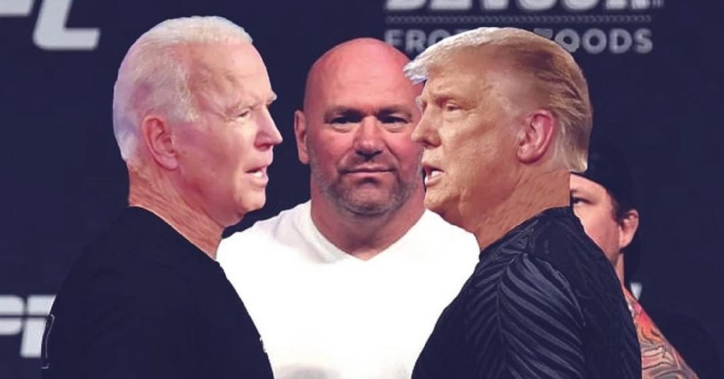 Dana White Says Joe Biden Doesn't Know Who He Is, History Proves Otherwise