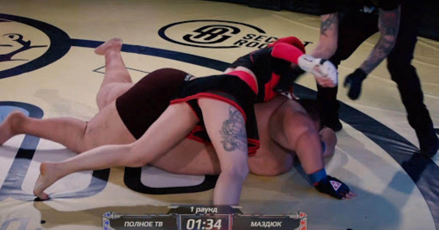 Female Bantamweight Fighter Tkos 240 Kilo Blogger