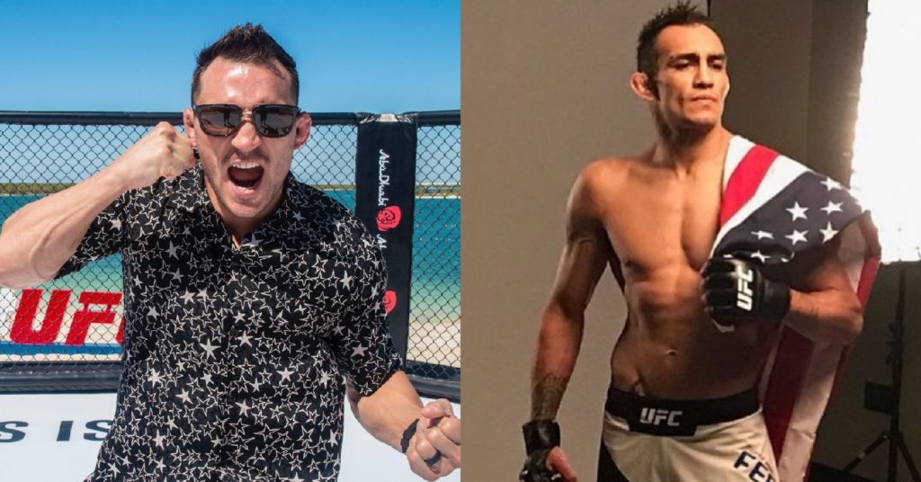 Michael Chandler Admits That A Fight With Tony Ferguson 'Scares' Him