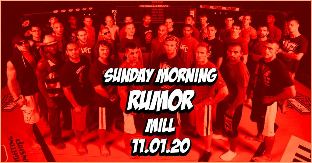 TUF Returning, Korean Zombie's Next Opponent, & More on the Sunday Morning Rumor Mill