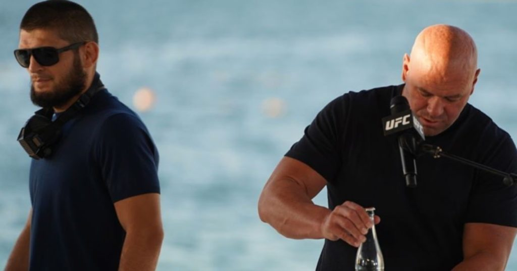 Khabib Nurmagomedov Hints At UFC Return, Tells Dana White He'll See Him Soon