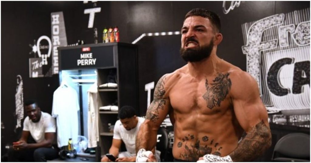 "Mike Perry Tells MMA Fans That They Suck: ""Yall Just Salty"""