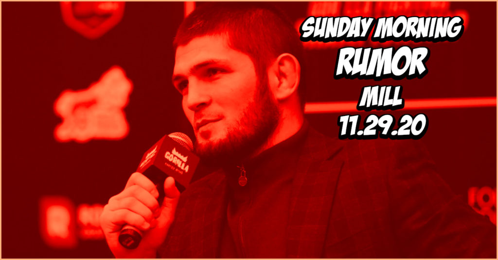 Anderson Silva to RIZIN, Khabib the Promoter, & More on the Sunday Morning Rumor Mill