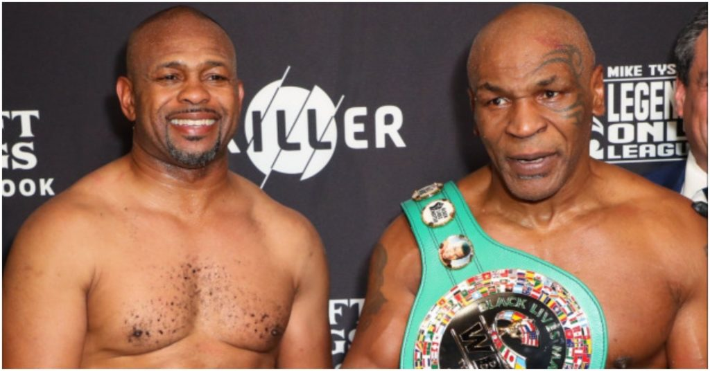 "(Video) Mike Tyson Admits to Smoking Weed Before Roy Jones Jr Fight: ""It's Just What I Do"""