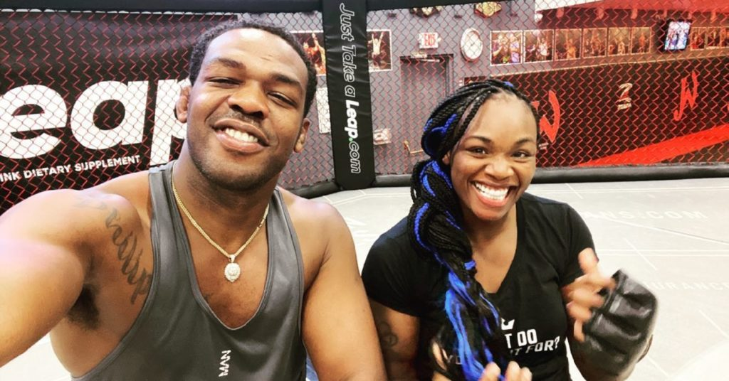 Claressa Shields Begins Prep For MMA Debut By Training With Jon Jones (VIDEO)