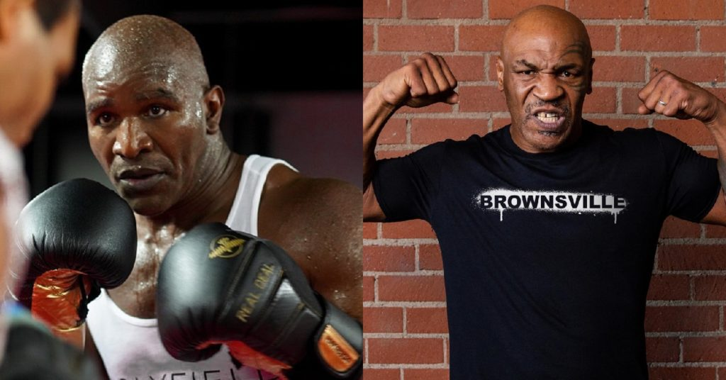 Evander Holyfield Calls For 'War' With Mike Tyson: 'I'm Ready'