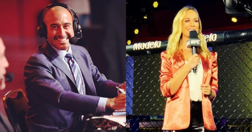 Jon Anik Demands Laura Sanko Get UFC Commentary Opportunity: 'All She Needs Is One Broadcast'