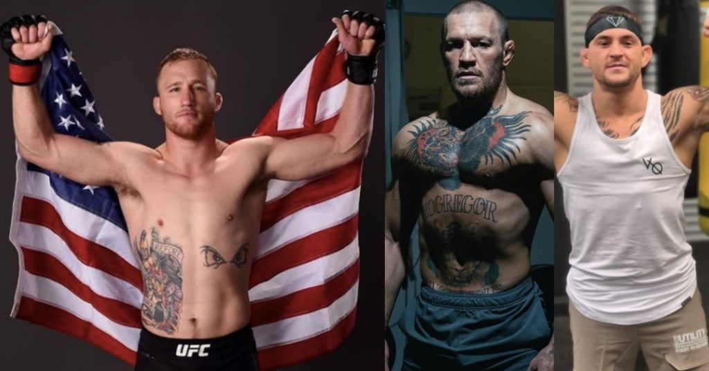 Justin Gaethje Wants To 'Fight For That F–king Belt' Against McGregor vs Poirier Winner