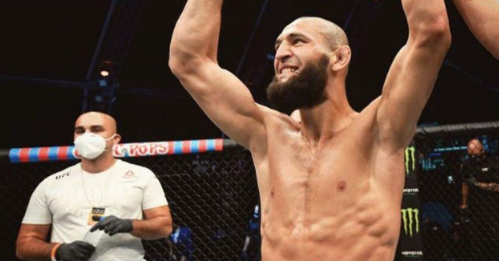 Lingering COVID-19 Health Problems Forced Khamzat Chimaev Out Of Leon Edwards Fight