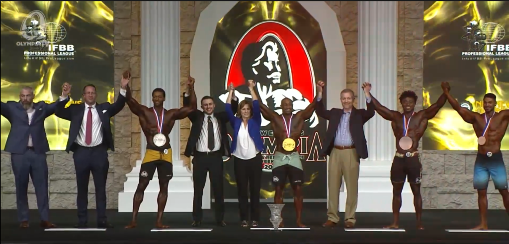 Mens Physique Winners