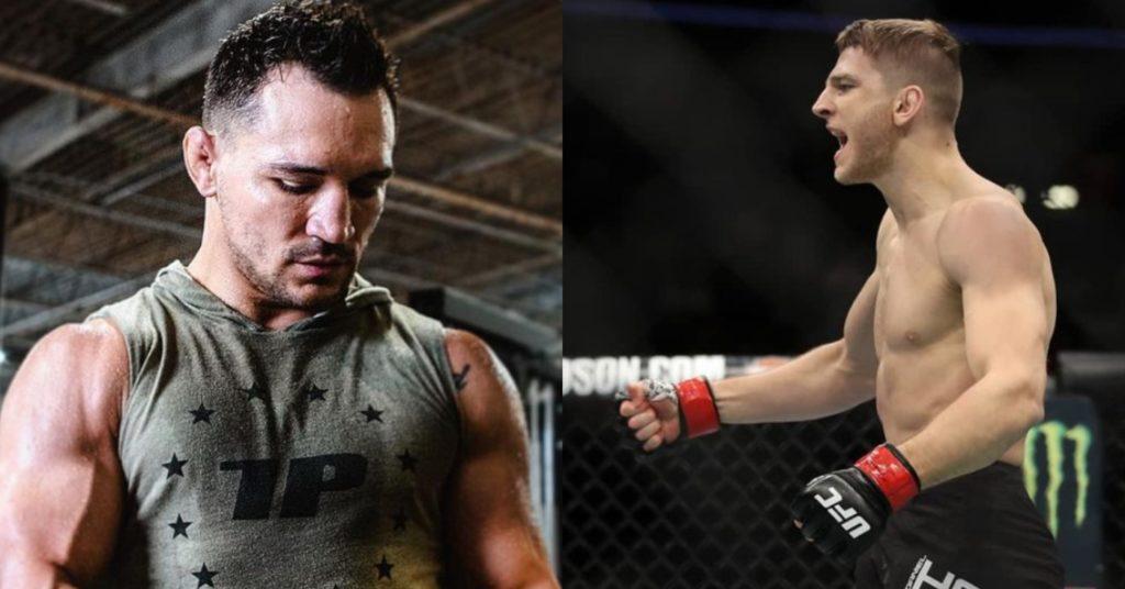 Dana White Reveals Michael Chandler Set To Face Dan Hooker On Fight Island