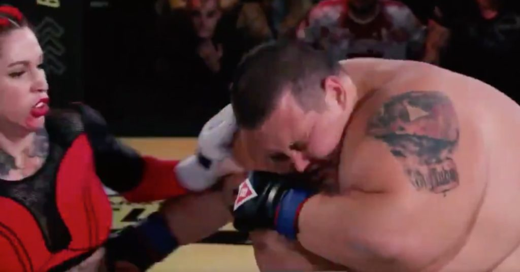 Referee Marc Goddard Reacts To 'Abysmal' Russian Cross-Gender MMA Fight