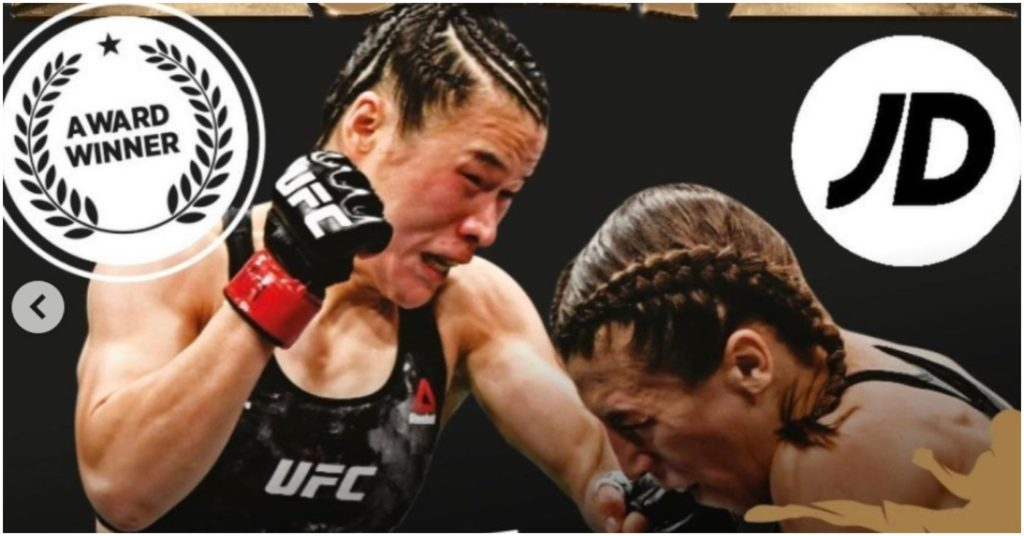 Joanna Jedrzejczyk Says 'More To Come' After Winning 'Fight Of The Year' Award