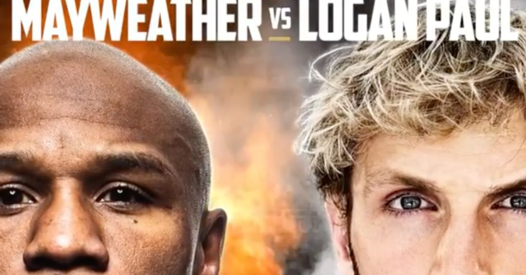 Floyd Mayweather vs. Logan Paul Exhibition Bout Set For February 20