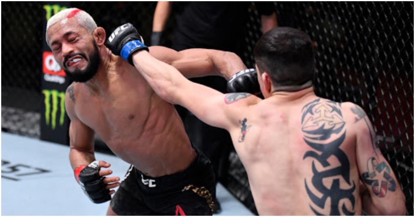 Brandon Moreno Wants April Rematch, Deiveson Figueiredo Targeting June