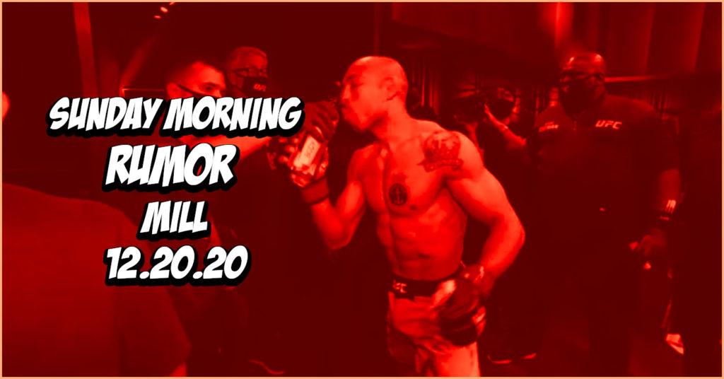 """Dan Hooker's Next Opponent, Jose Aldo's Mysterious """"Tattoo"""" & More on the Sunday Morning Rumor Mill"""