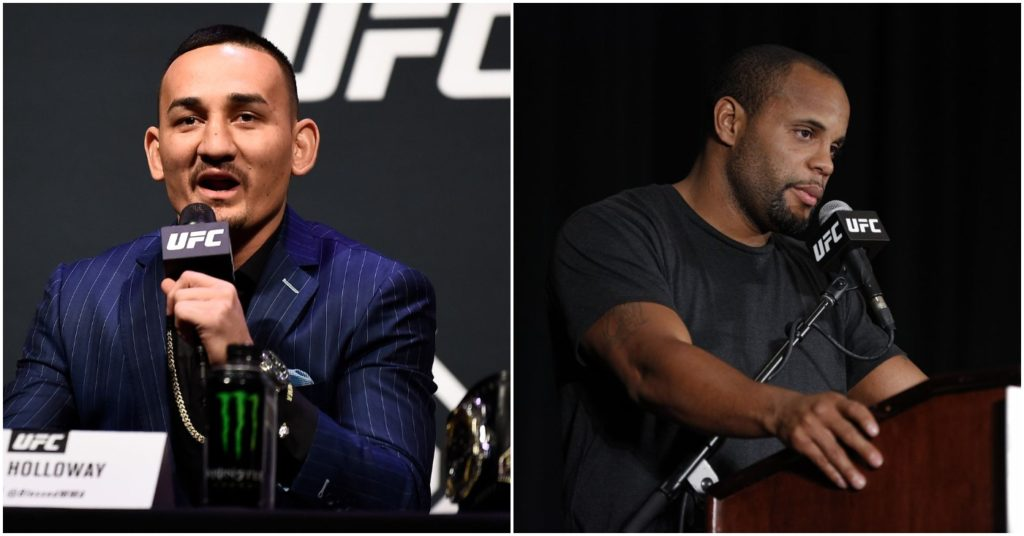 (Video) Daniel Cormier FINALLY Responds to Hilarious Max Holloway Callouts