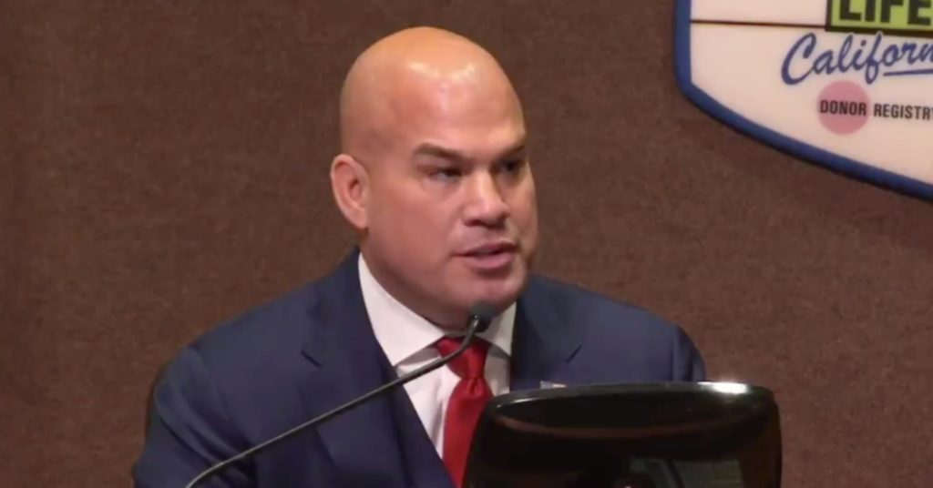 (Video) Tito Ortiz Gets Roasted By Resident In First City Council Meeting
