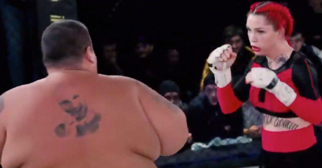 Bellator Signs Darina Madzyuk Coming Off TKO Win Over 529-Pound Man