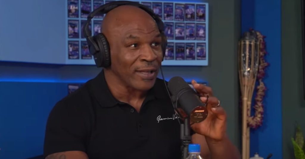 (Video) Mike Tyson Tells Logan Paul That Floyd Mayweather Will Kick His A**