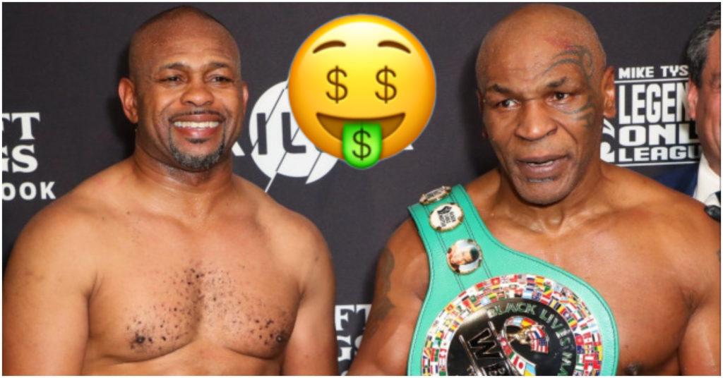 Report: Mike Tyson vs Roy Jones Jr Generates Over 1 Million PPV Buys Across the US