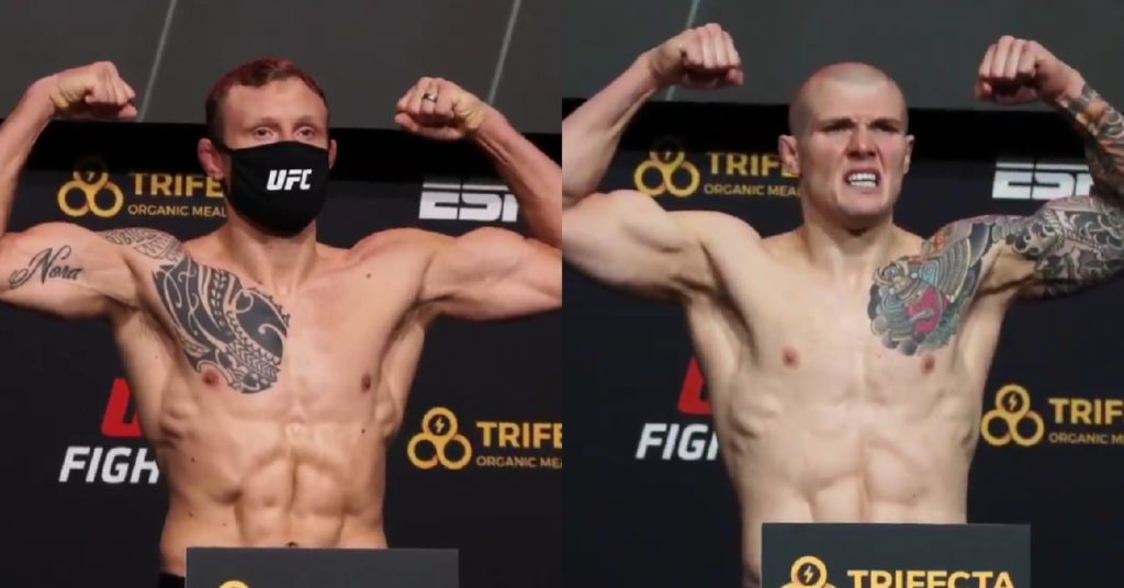 UFC Vegas 16 Weigh-Ins: Jack Hermansson vs Marvin Vettori Is Official; OSP Misses Weight