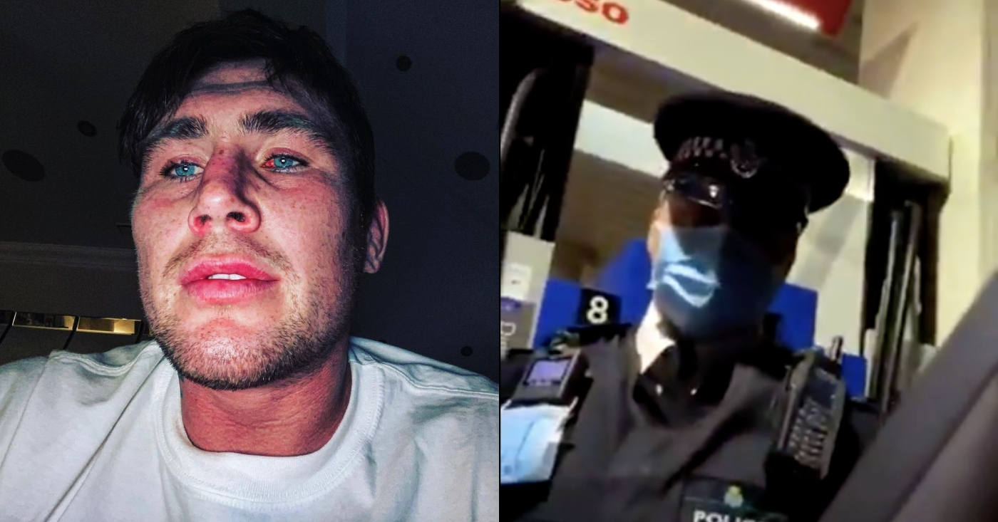 Darren Till Has Altercation With Police Over Mask Regulations (VIDEO)