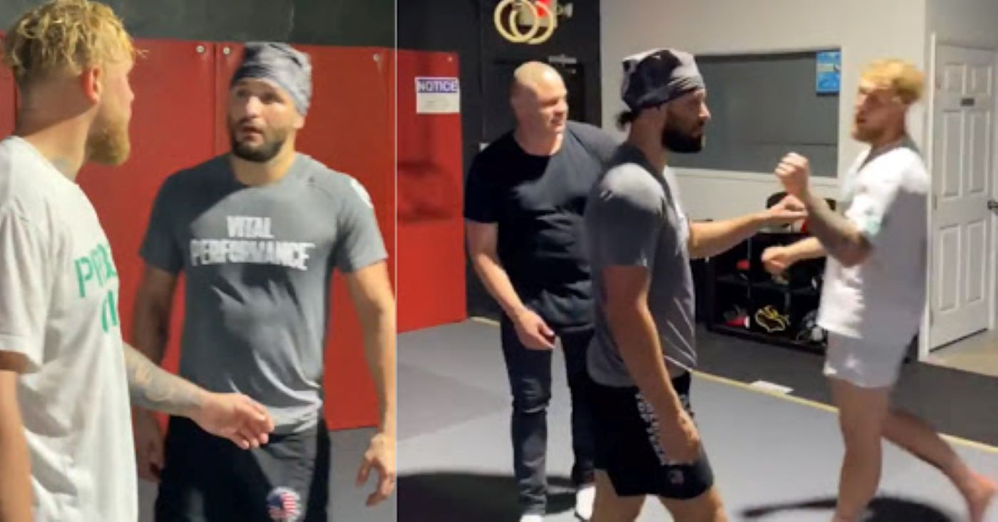 Jorge Masvidal Training Jake Paul, Teaches Him How To Knockout Ben Askren In 4 seconds