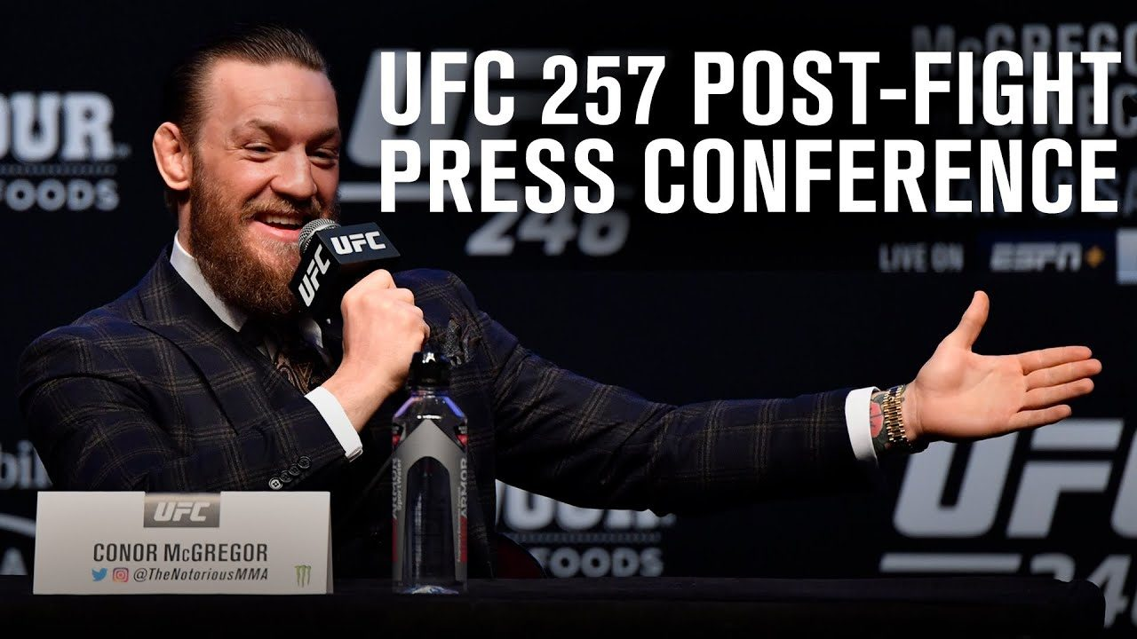 Video: UFC 257 Post-Fight Press Conference