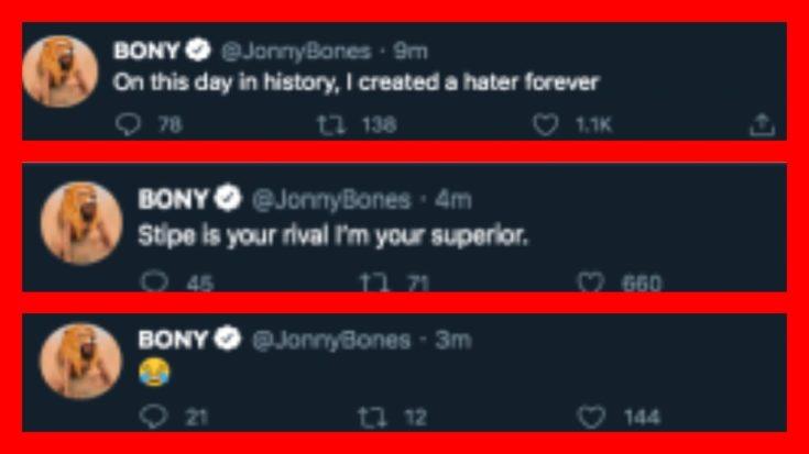Jon Jones deleted tweets via BJ Penn