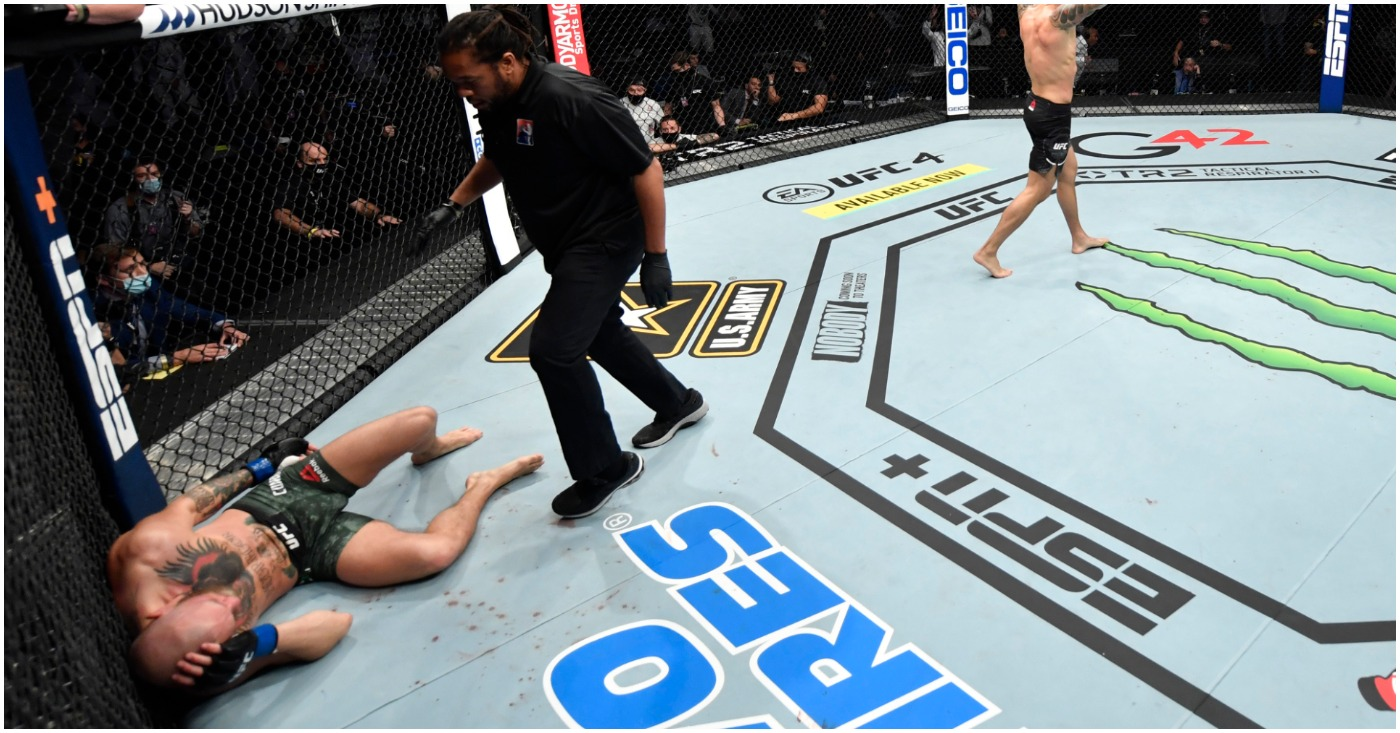 """(Video) Conor McGregor Indicates """"Inactivity"""" for Reasoning of TKO Loss to Dustin Poirier"""