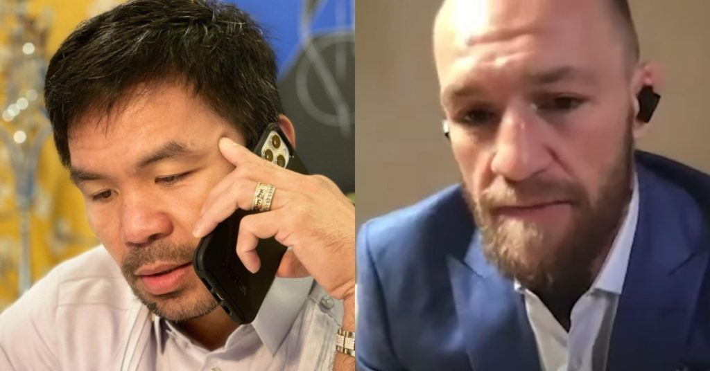 Conor McGregor Expecting Manny Pacquiao Fight To Happen This Year
