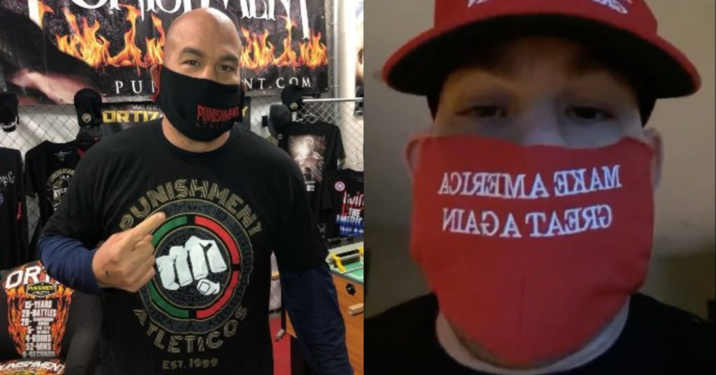 Tito Ortiz Finally Wears Face Mask Amidst Serious Blowback