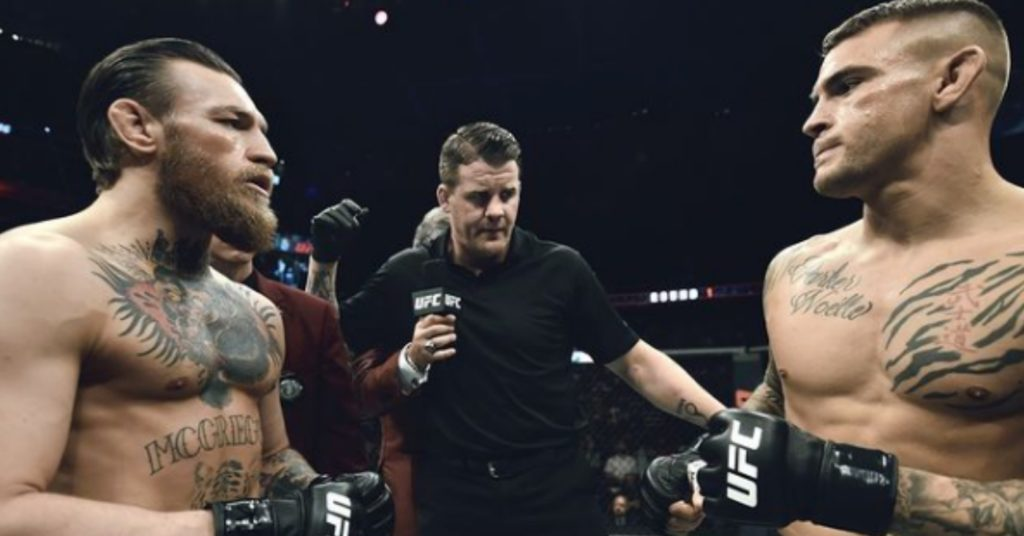 UFC Sends DM's Saying Conor McGregor vs Dustin Poirier 2 Will Be For Lightweight Title