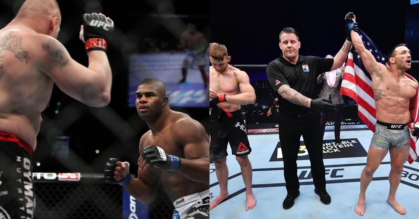 Alistair Overeem Says His UFC Debut Over Brock Lesnar Beats Michael Chandler's